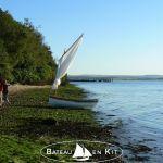 Annexe et bateau d'aviron