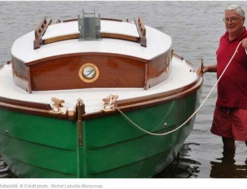 Landes : il construit un bateau pendant le confinement. Article de Sud Ouest