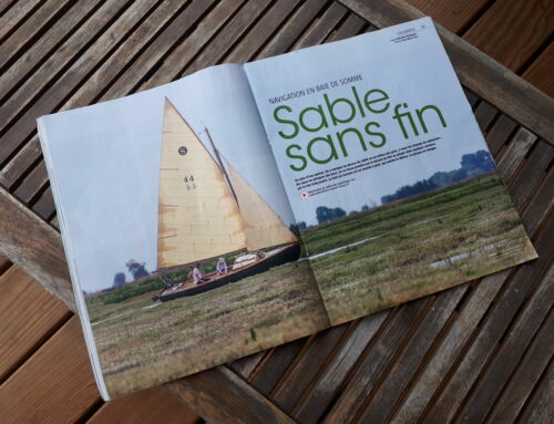 Navigation en Baie de Somme sur un Stir -Ven 22 Voiles et Voiliers août 2020